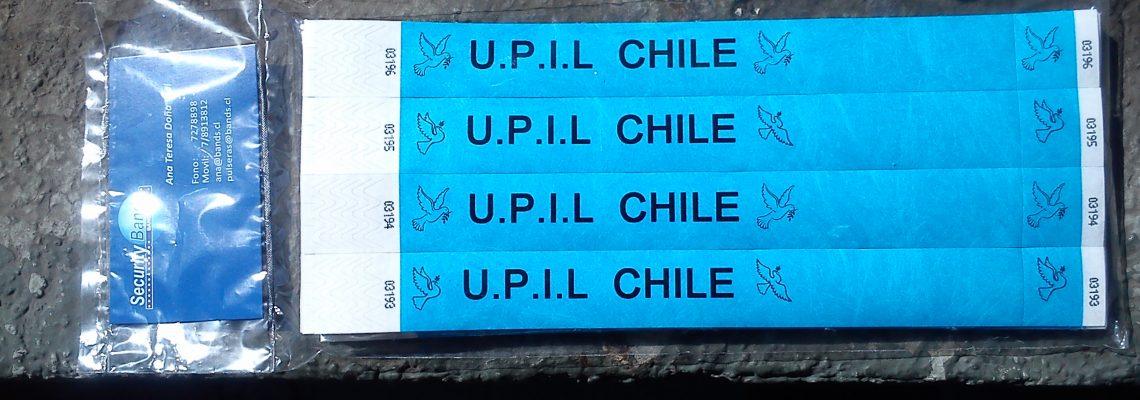 Pulseras UPIL Chile